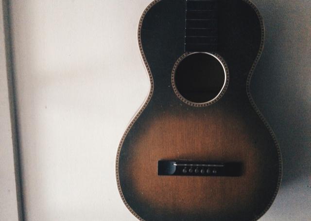 1920's Oscar Schmidt Parlor Guitar 'Eva' named after Gary's mother EvaLouise