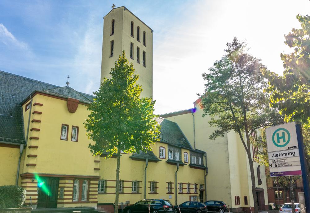 St. Elisabeth am Zietenring. Foto: Benjamin Dahlhoff