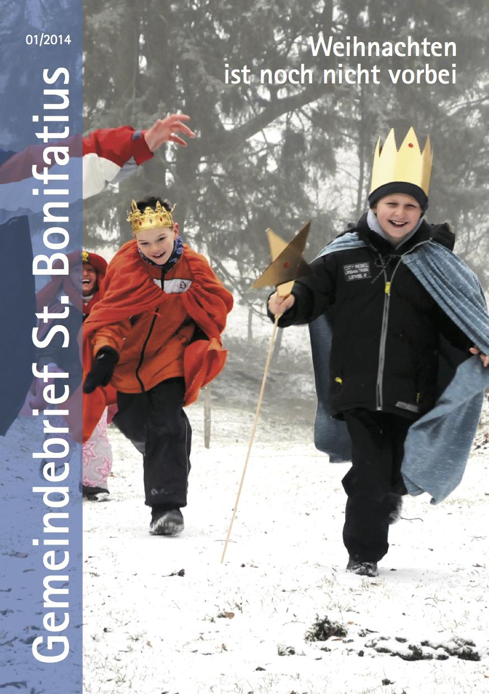 Titelseite des Gemeindebriefes 2014-01