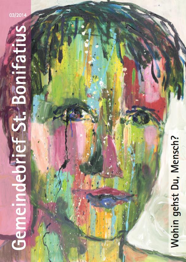 Titelseite des Gemeindebriefs 3/2014. Bild:Hanne Werhan