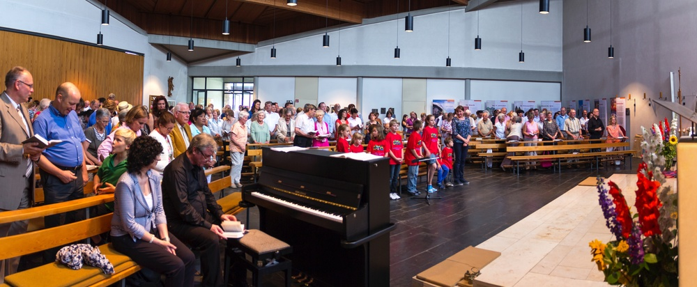 Festgottesdienst in St. Michael. Foto: Benjamin Dahlhoff