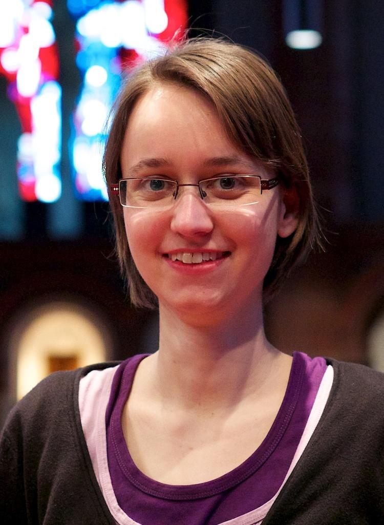 Gemeindereferentin Carolin Enenkel