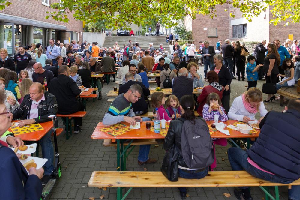 Gemeindefest am 28.9.2014 in St. Andreas. Foto: Benjamin Dahlhoff