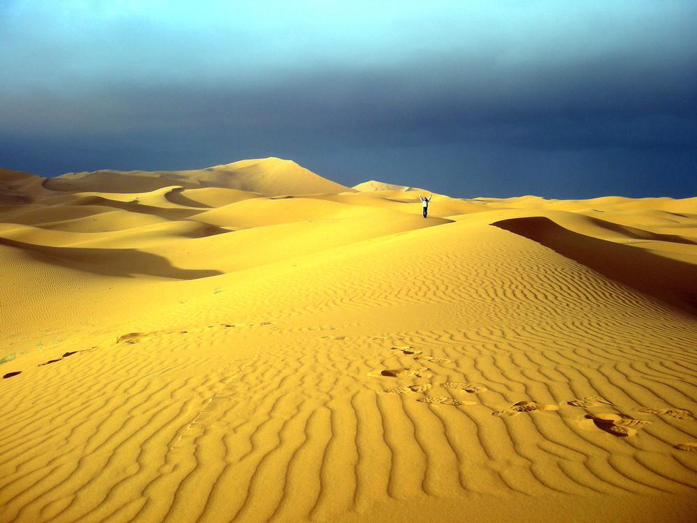 """Marokko Wüste 02"" von Joadl.Lizenziert unter CC BY-SA 3.0 über Wikimedia Commons - http://commons.wikimedia.org/wiki/File:Marokko_W%C3%BCste_02.JPG"