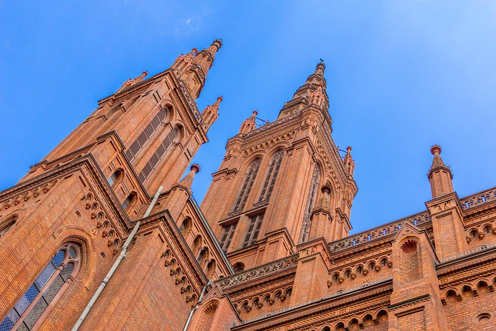 Türme der Marktkirche. Foto: 2014 B. Dahlhoff