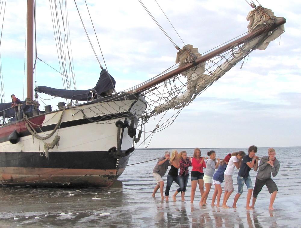 Segelfreizeit auf dem Ijsselmeer