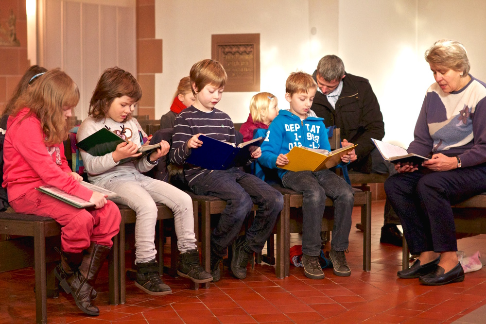 Kinderwortgottesdienst in Dreifaltigkeit