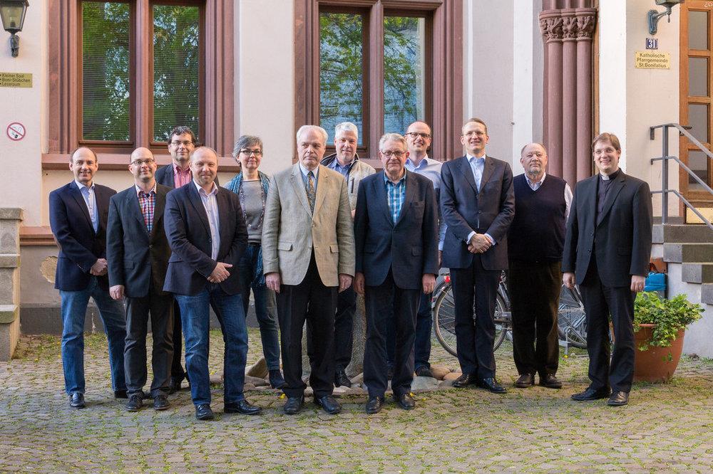 Der Verwaltungsrat im April 2016