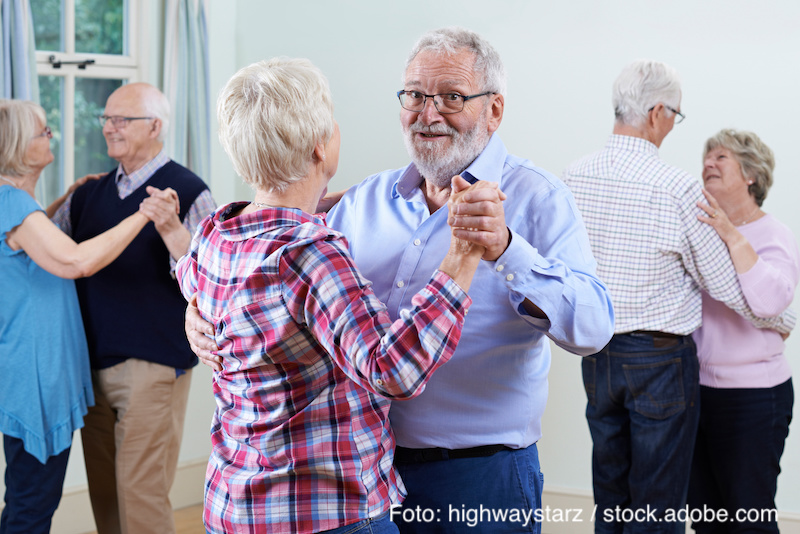 Copy of Group Of Seniors Enjoying Dancing Club Together