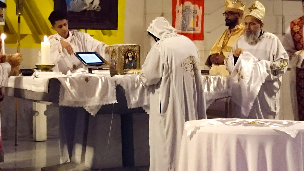 Copy of koptischer Gottesdienst in St. Mauritius