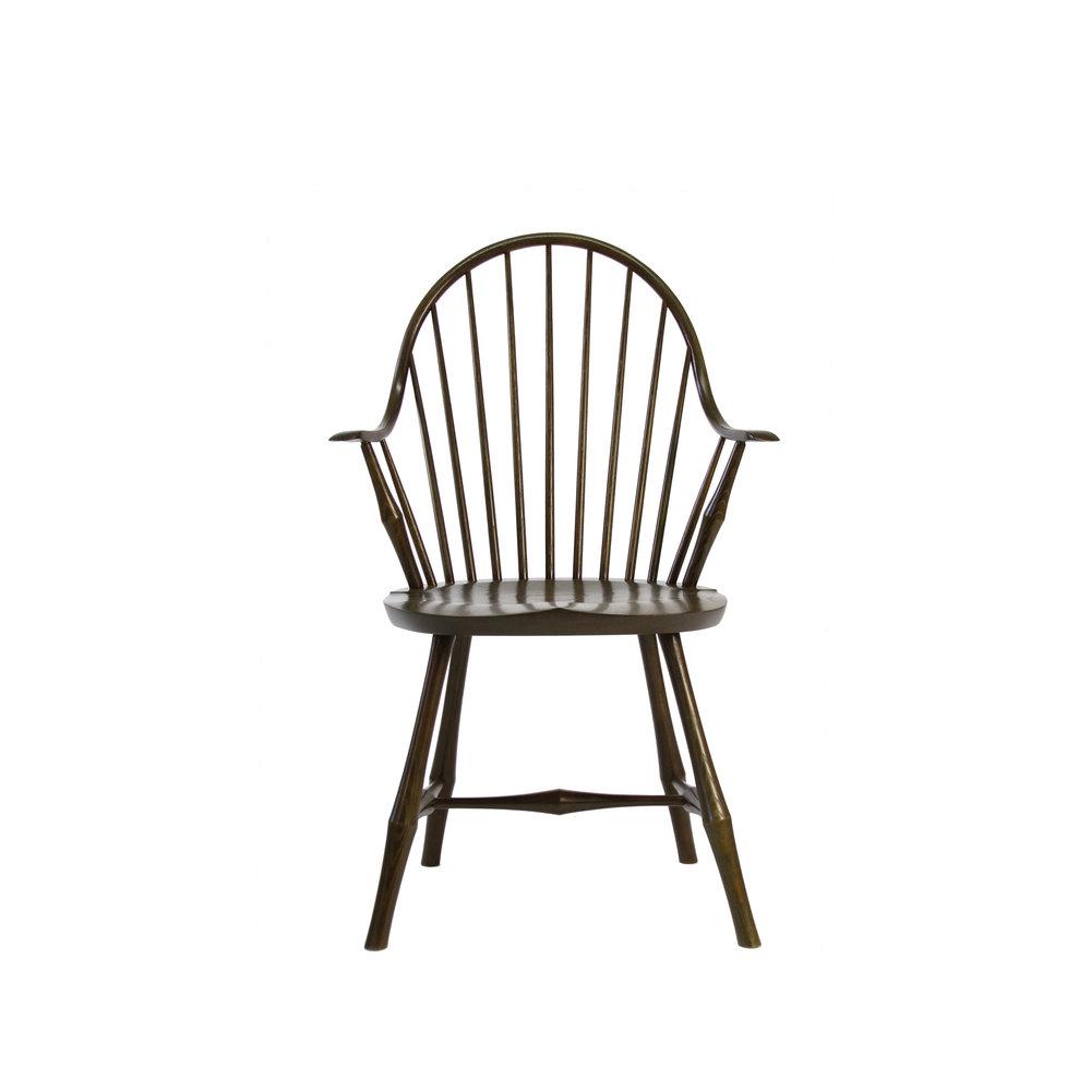 O&G Studio Kelp Stain on Maple Elbow Windsor Chair