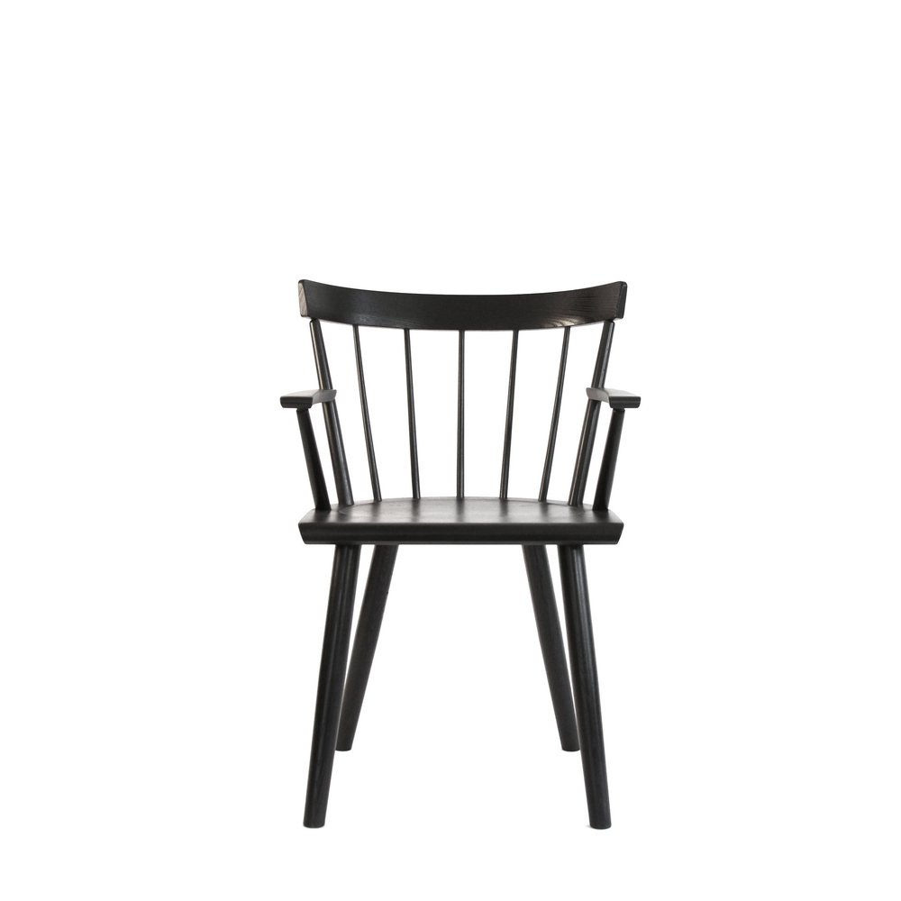 Colt Low Back Armchair Black Front.jpg