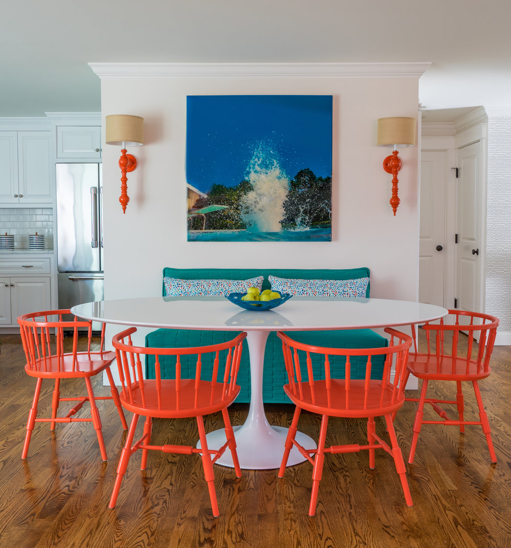 MARTHA'S VINEYARD INTERIOR DESIGN -  Left Fork   Photography: Eric Roth