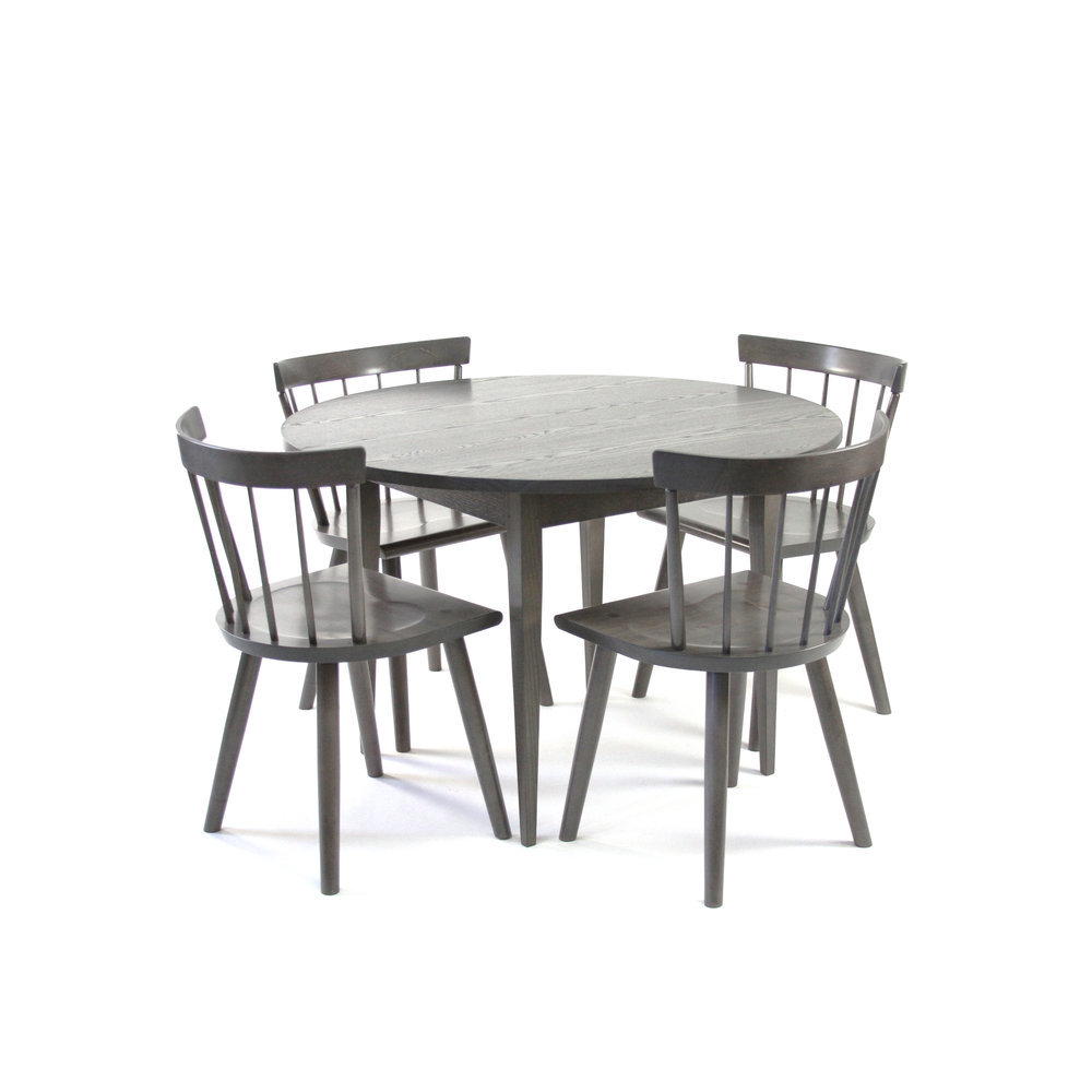 Harvest Dining Table Round with Colt Low Back Chairs - 44 Lichen Ash.jpg
