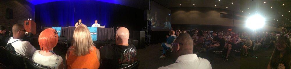 Interviewing Zach Callison (voice of Steven Universe) at Momocon