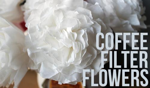 Creating coffee filter flowers unusually lovely creating coffee filter flowers mightylinksfo