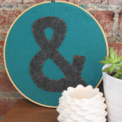 Ampersand Wall Art