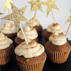 Glitter Start Cupcake Toppers