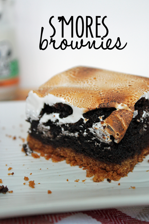 Recipe: S'mores Brownies — Unusually Lovely