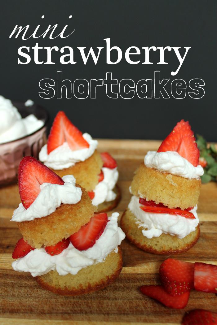 Recipe Mini Strawberry Shortcakes Unusually Lovely