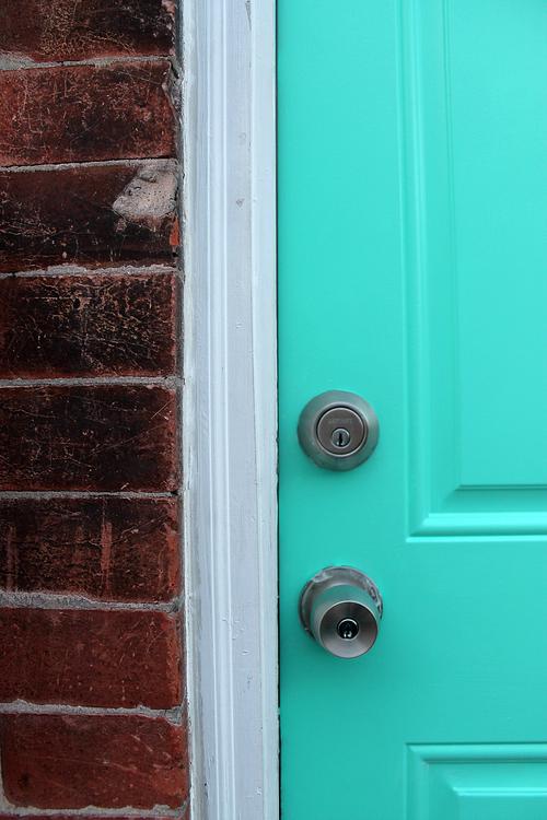 DIY: Bold Front Door — Unusually Lovely