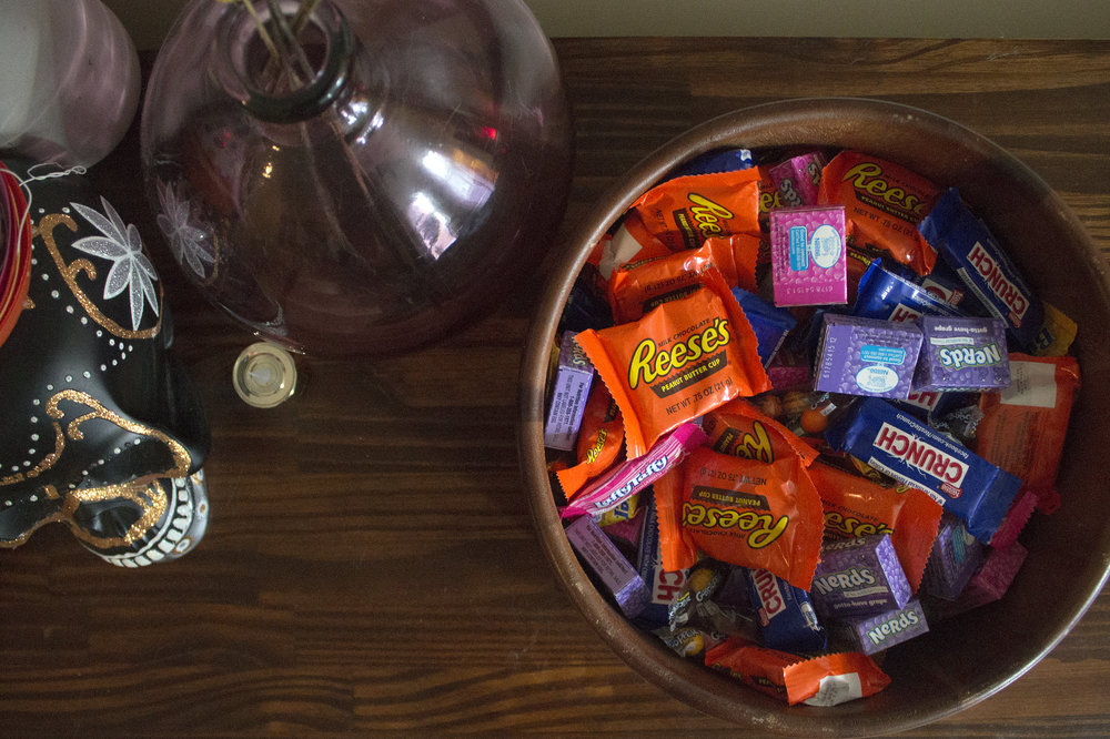 Halloween Candy via Unusually Lovely