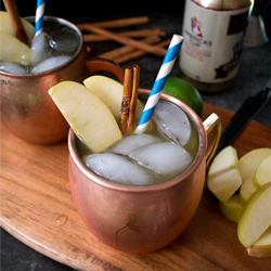 Apple cider moscow mule