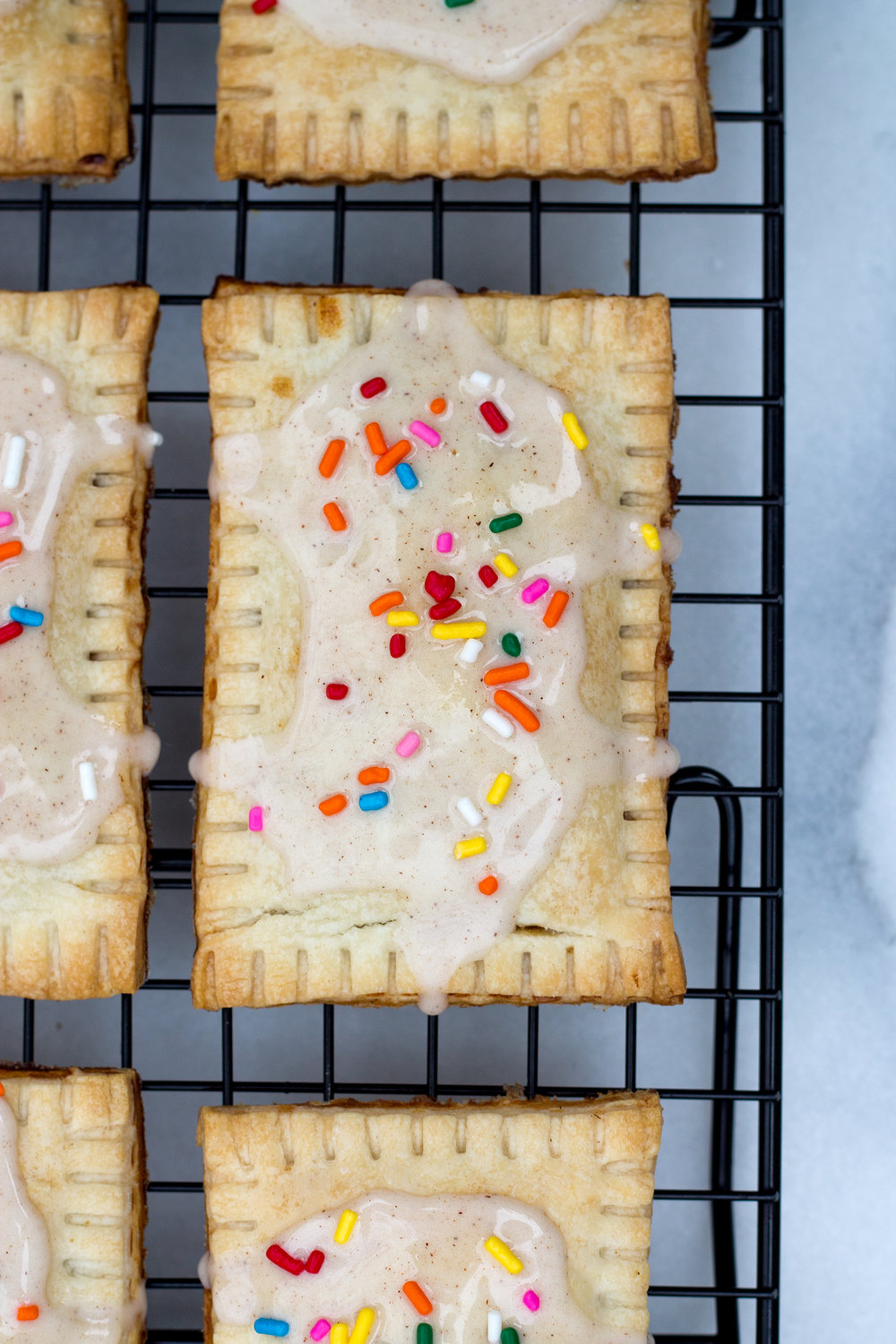 Homemade Cinnamon Brown Sugar Poptarts via UnusuallyLovely.com