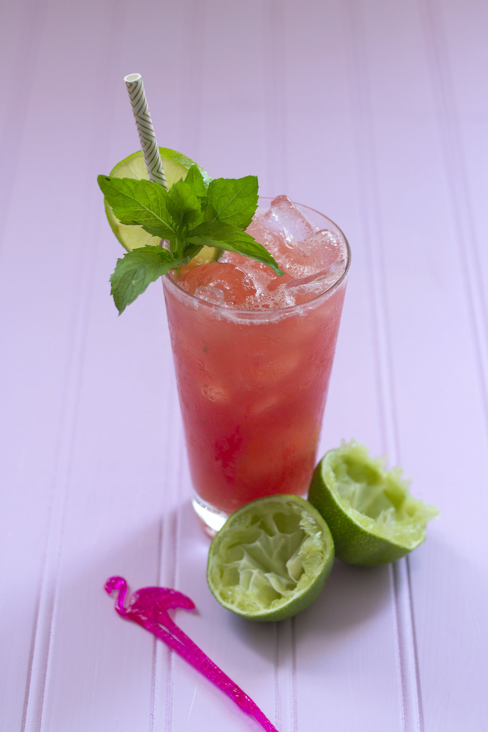 Watermelon Mojito via Unusually Lovely.com