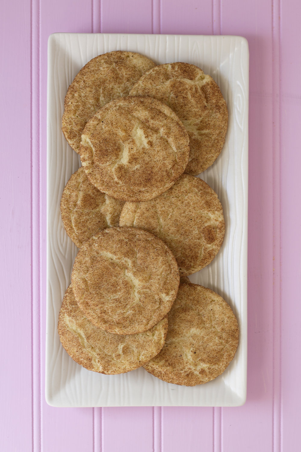 Get the recipe for these Chai Snickerdoodles. UnusuallyLovely.com