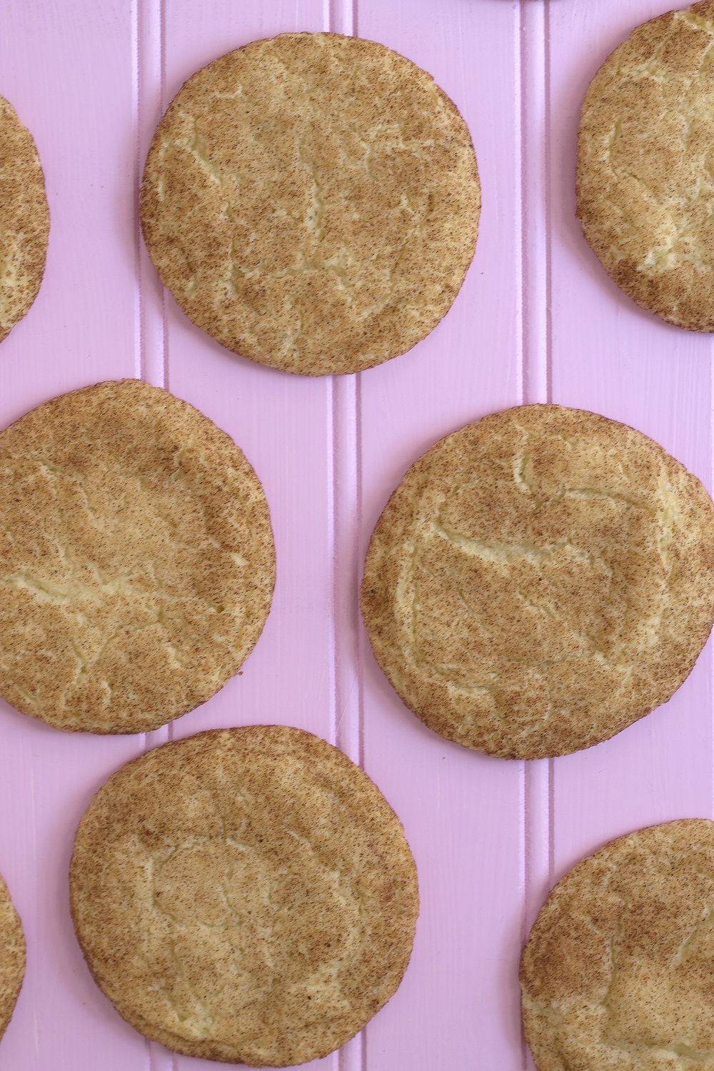 Get the recipe for these Chai Snickerdoodles on Unusually Lovely blog