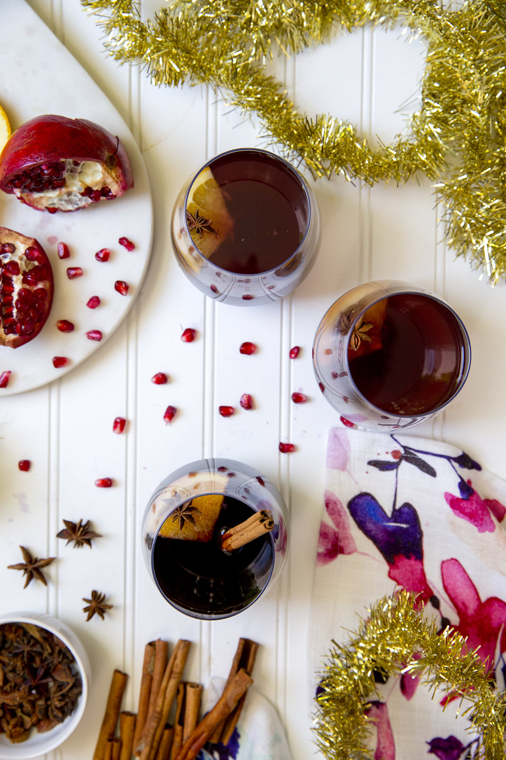 Get this recipe for Mulled Wine from UnusuallyLovely.com