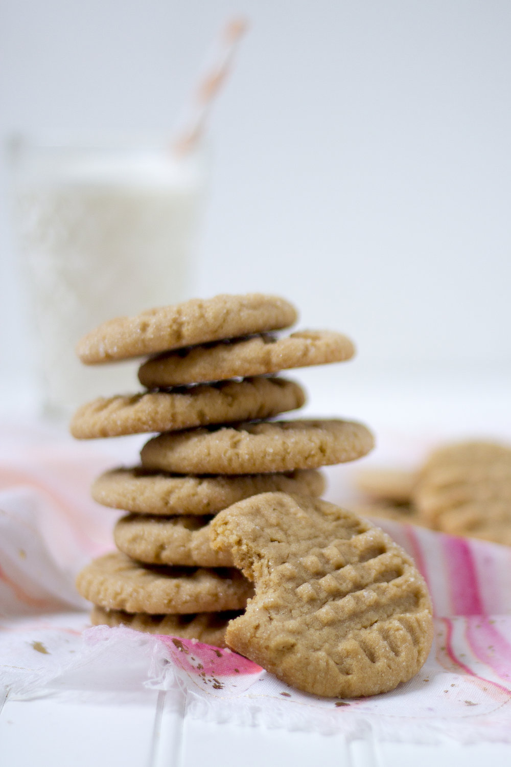 Salty Peanut Butter Cookies. Get the recipe at Unusually Lovely Blog