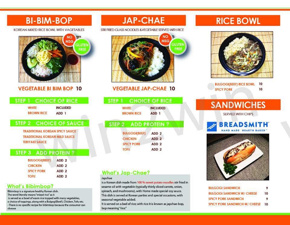 Food Truck Bop Bar Korean Bbq Plank Road Tap Room
