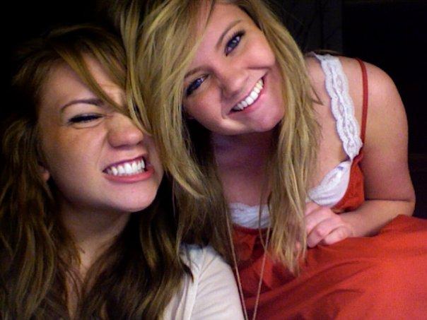 Cady & Joy silly