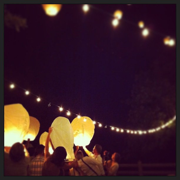 Cady wedding lanterns