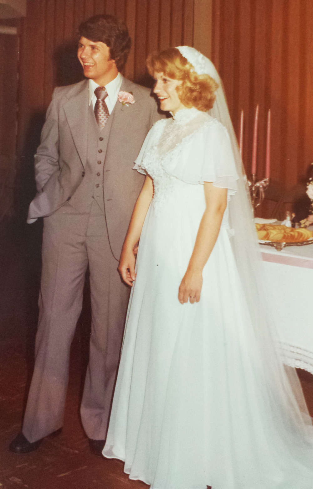 Carol Wedding 1