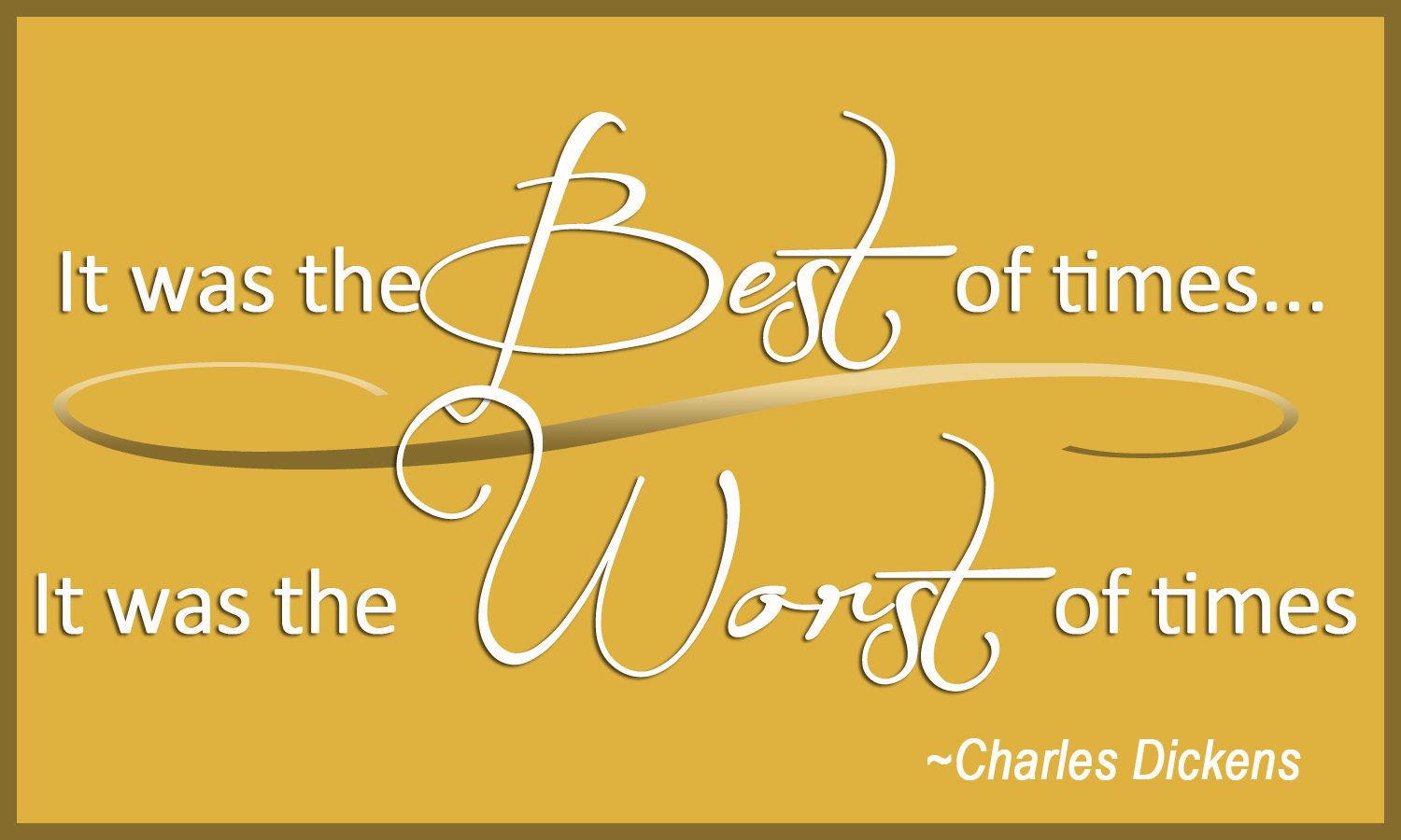 The Best of Times...The Worst of Times — Carol McLeod Ministries | Find Joy  in Your Everyday Life
