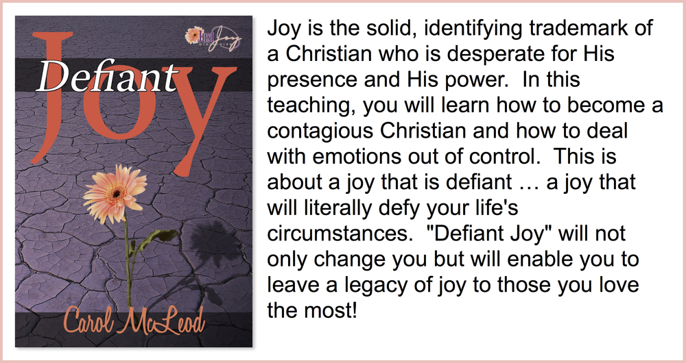 Defiant Joy  Teaching CD - $5   Defiant Joy  Teaching Download - $15