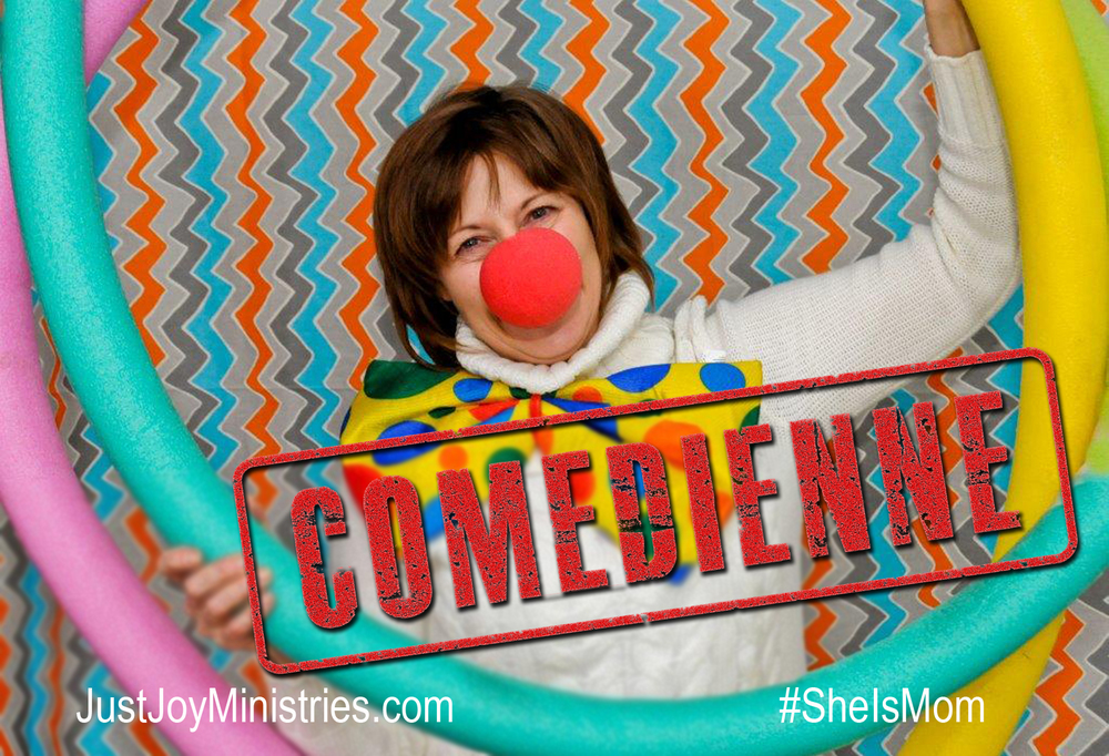 "Thank you Debbie for ""clowning around"" with us!"