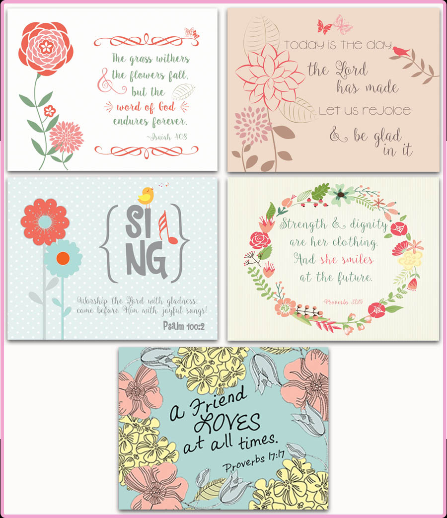 Set of 5 Notecards - $10