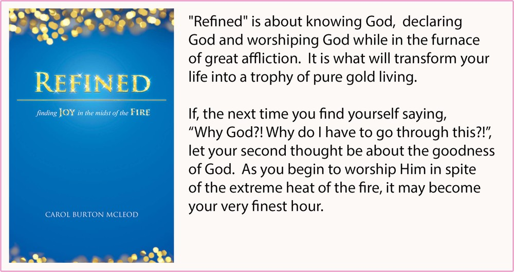 Refined - finding JOY in the midst of the FIRE -  $15