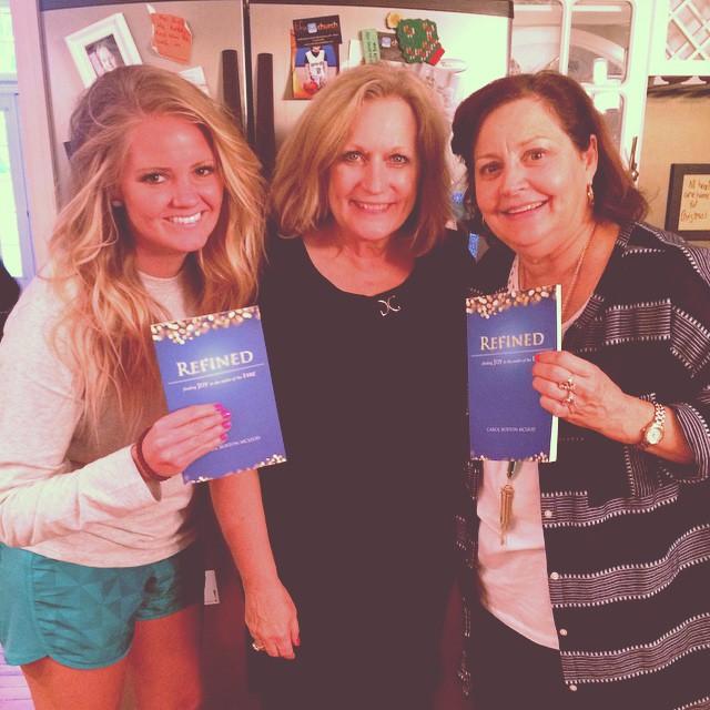 Cady Lewis, Carol McLeod, Debby Edwards