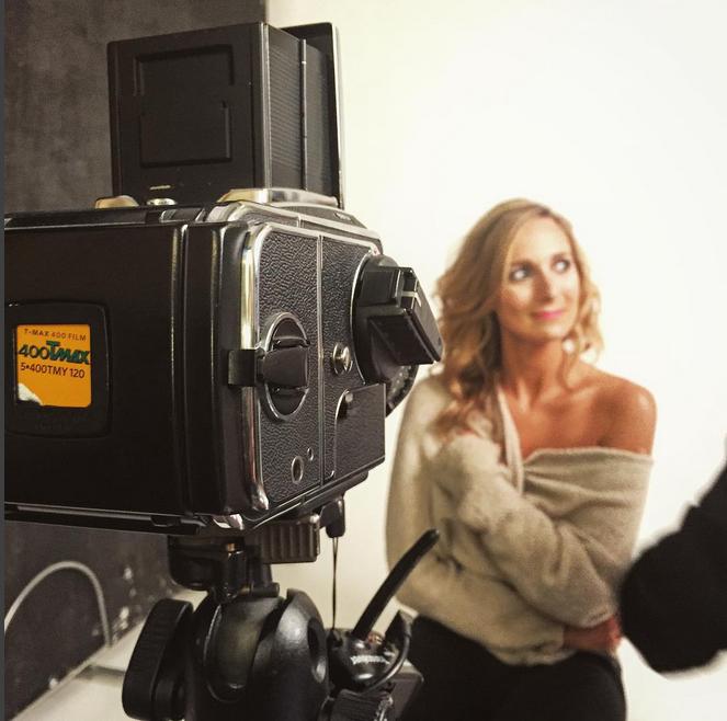 hasselblad 501cm photoshoot bts behind the scenes