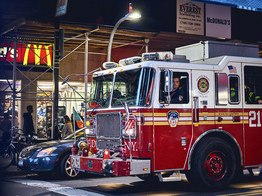 new york fire engine