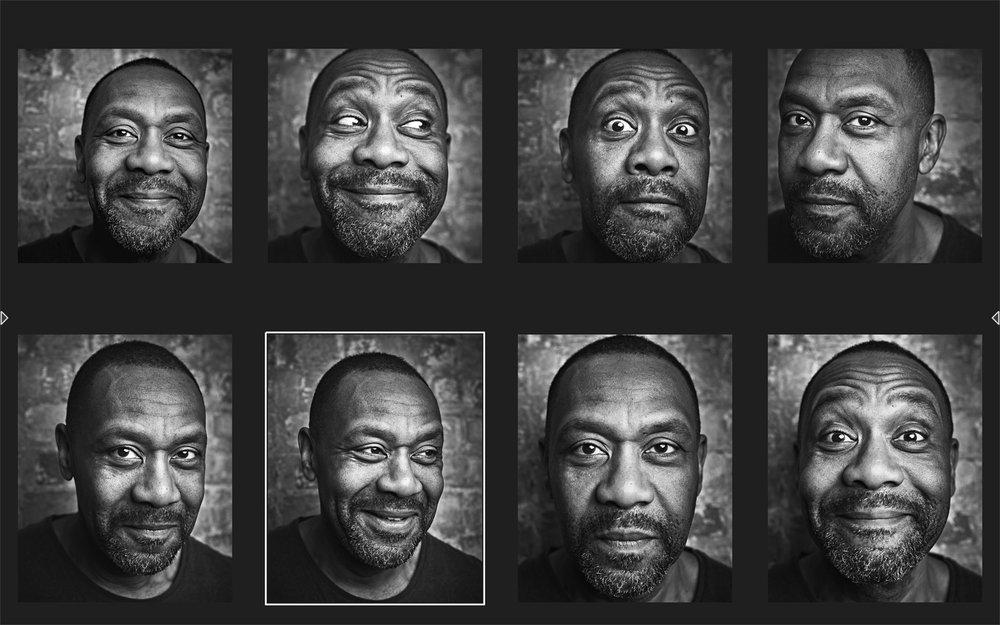 Lenny Henry Photoshoot