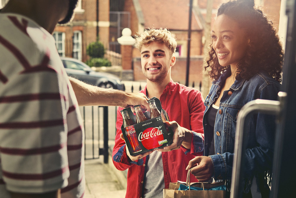 coca cola ad campaign lifestyle photography