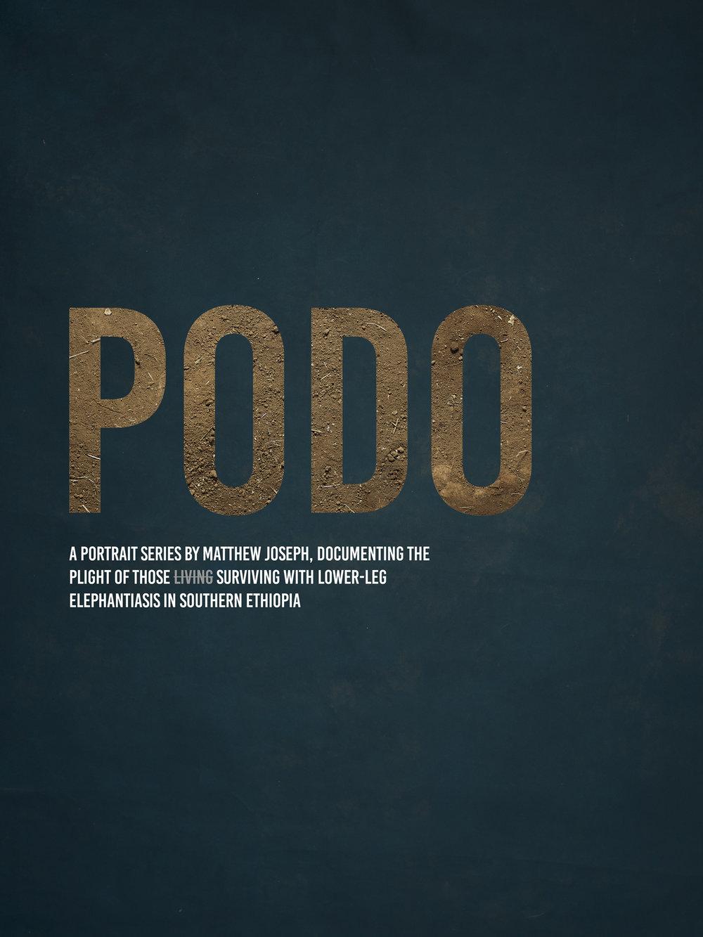 PODO exhibition Matthew Joseph