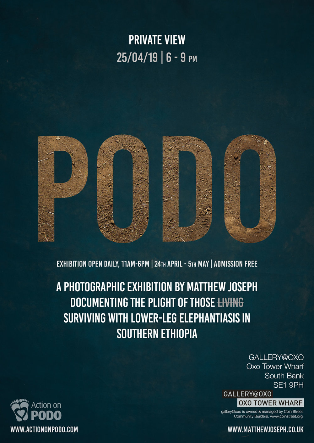 PODO exhibition Matthew Joseph