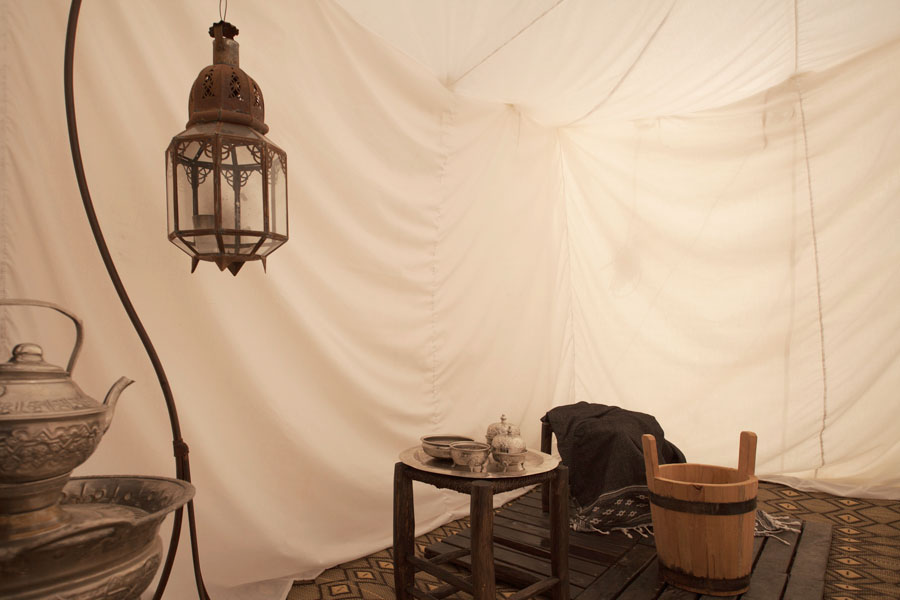 """Maure Suite"" tent - shower room"